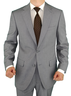 image of wholesale closeout grey mens suits