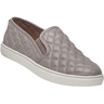 image of wholesale grey quilted leather steve madden flat