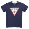 image of liquidation wholesale guess blue navy shirt