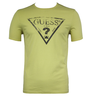 image of liquidation wholesale guess green mens shirt