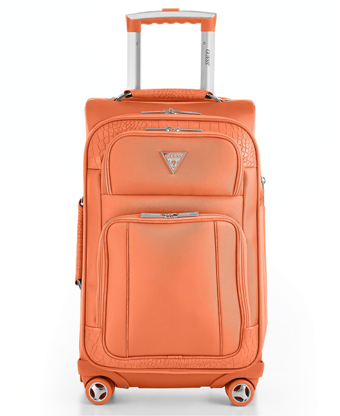 image of liquidation wholesale guess suitcase