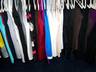 image of wholesale hanger of dresses shirts