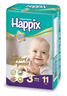 image of wholesale happix midi diapers
