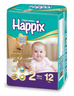 image of liquidation wholesale happix mini diapers