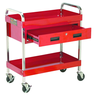 image of wholesale closeout harbor freight red service cart