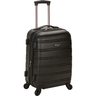 image of wholesale closeout hardside luggage black