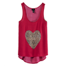image of wholesale closeout heart top rue 21