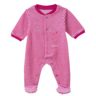 image of wholesale infant pink onesies