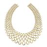 image of liquidation wholesale ivanka gold necklace