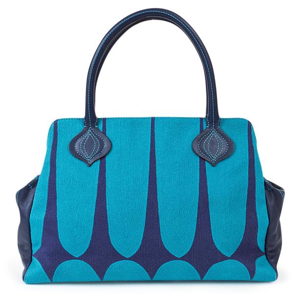 image of wholesale closeout jonathon alder blue handbag