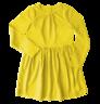 image of wholesale closeout kids yellow dress