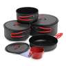 image of wholesale closeout kitchen pans black