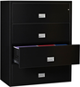 image of wholesale lateral file cabinet black