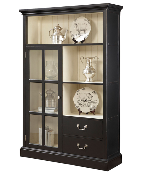 image of wholesale closeout leah display cabinet