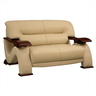 image of wholesale loveseat couch beige