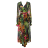 image of wholesale maxi colorful dress