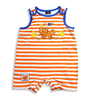 image of wholesale mayfair striped boy romper