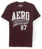 image of wholesale mens maroon tee