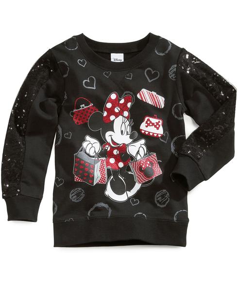 image of wholesale closeout minnie sweatshirt
