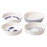 image of wholesale mixed patterns serving plates