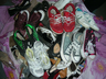 image of wholesale closeout mixed shoes in sacks