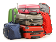 wholesale closeout multi color luggage