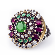 wholesale discount multi color ring