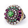 image of wholesale multi color ring