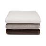 image of wholesale closeout nandina ambience artisan organic towels stack b