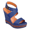 image of wholesale nine west blue jean wedges