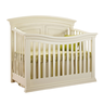 image of wholesale closeout off white baby crib