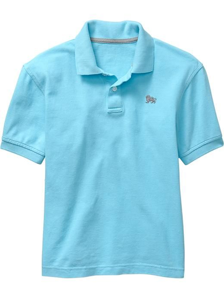 image of wholesale closeout old navy boys polo shirt