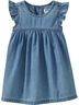 image of wholesale old navy denim dress