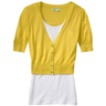image of liquidation wholesale old navy yellow jacket with top