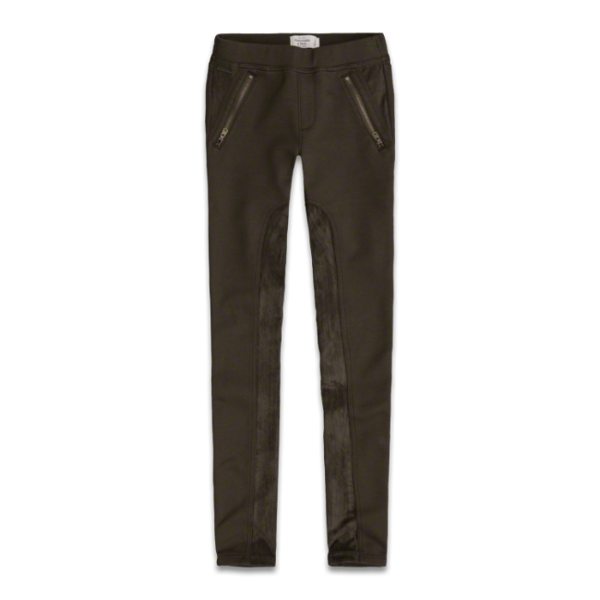 image of wholesale olive jeggings