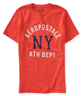image of wholesale closeout orange mens aeropostale tshirt