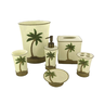 image of wholesale closeout palm tree bathroom accessories