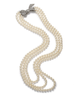 image of wholesale pearl bow necklace