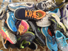 image of wholesale closeout pile of sneakers