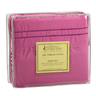 image of wholesale closeout pink bed sheet four pc set