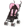 image of wholesale closeout pink black stroller