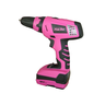 image of wholesale closeout pink cordless drill