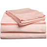 image of wholesale closeout pink egyptian cotton bed sheets