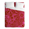 image of wholesale pink flowered comforter