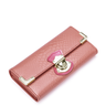 image of wholesale closeout pink snake skin wallet