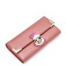 image of wholesale closeout pink snake skin wallet