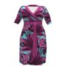 image of liquidation wholesale plus size purple dress