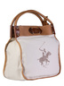 image of wholesale polo club white brown handbag