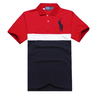 image of liquidation wholesale polo red blue shirt