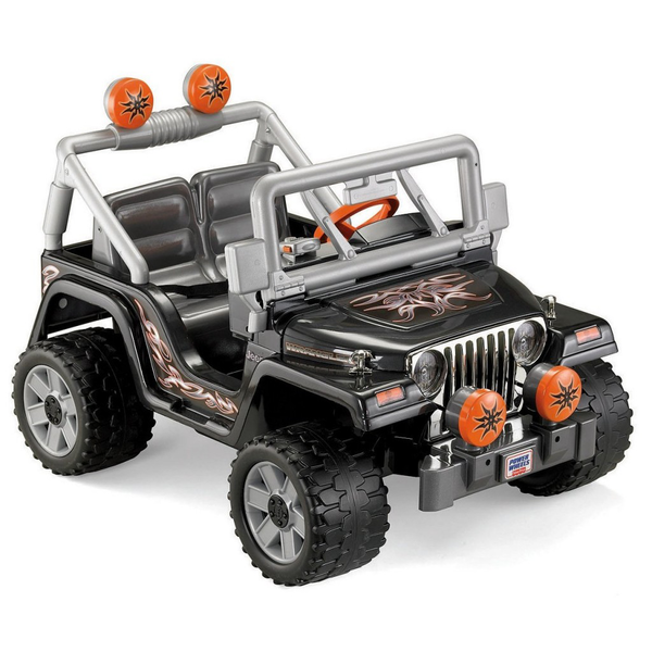 image of wholesale closeout power wheels tough talking jeep wrangler